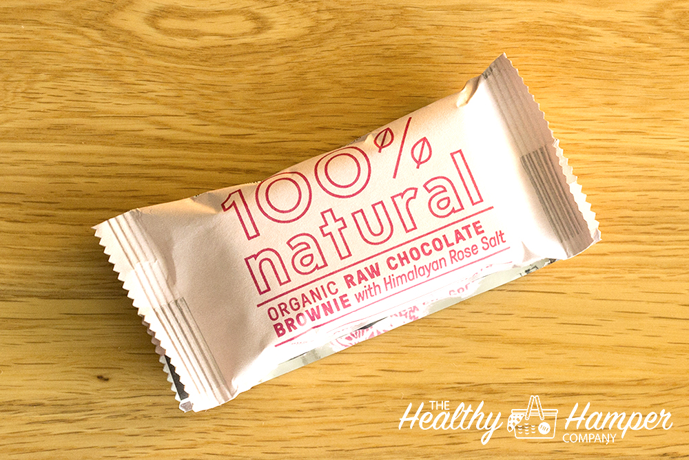 100% Natural Raw Chocolate Brownie