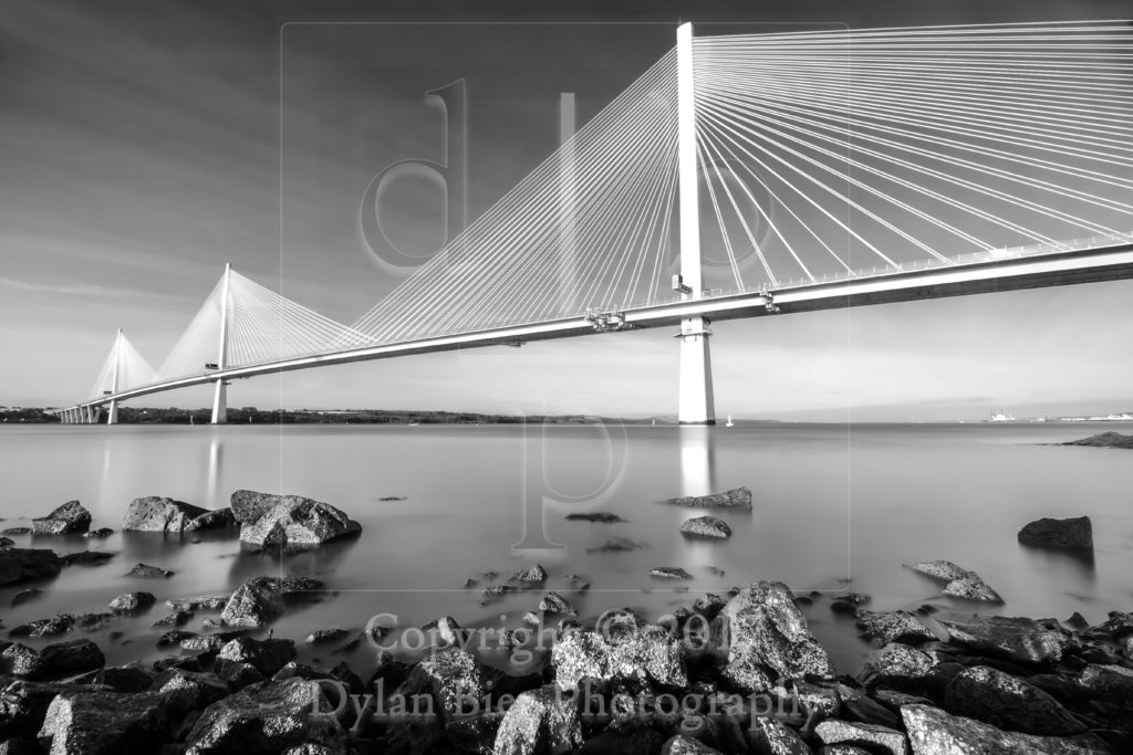The Queensferry Crossing 1 (Black & White)