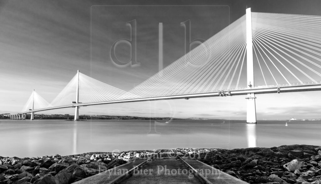 The Queensferry Crossing 2 (Black & White)